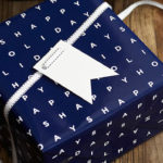 The Mixed Bag Designs Catalog features a variety of double-sided holiday gift wrap.